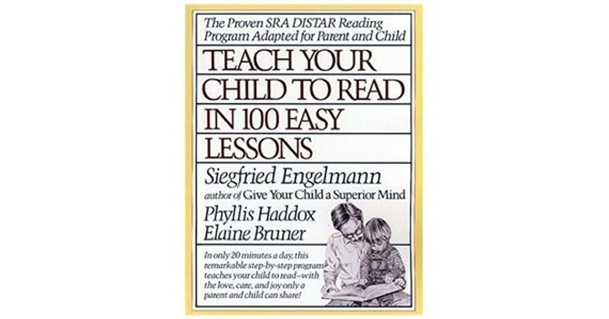 teach your child to read in 100 lessons pdf