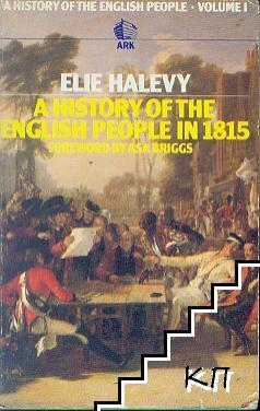 A History of the English People in 1815