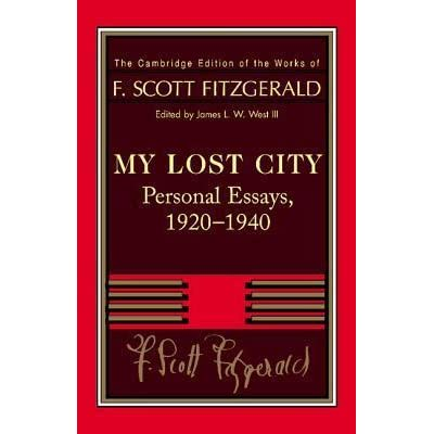 scott fitzgerald Conclusion analysis essays written by f.