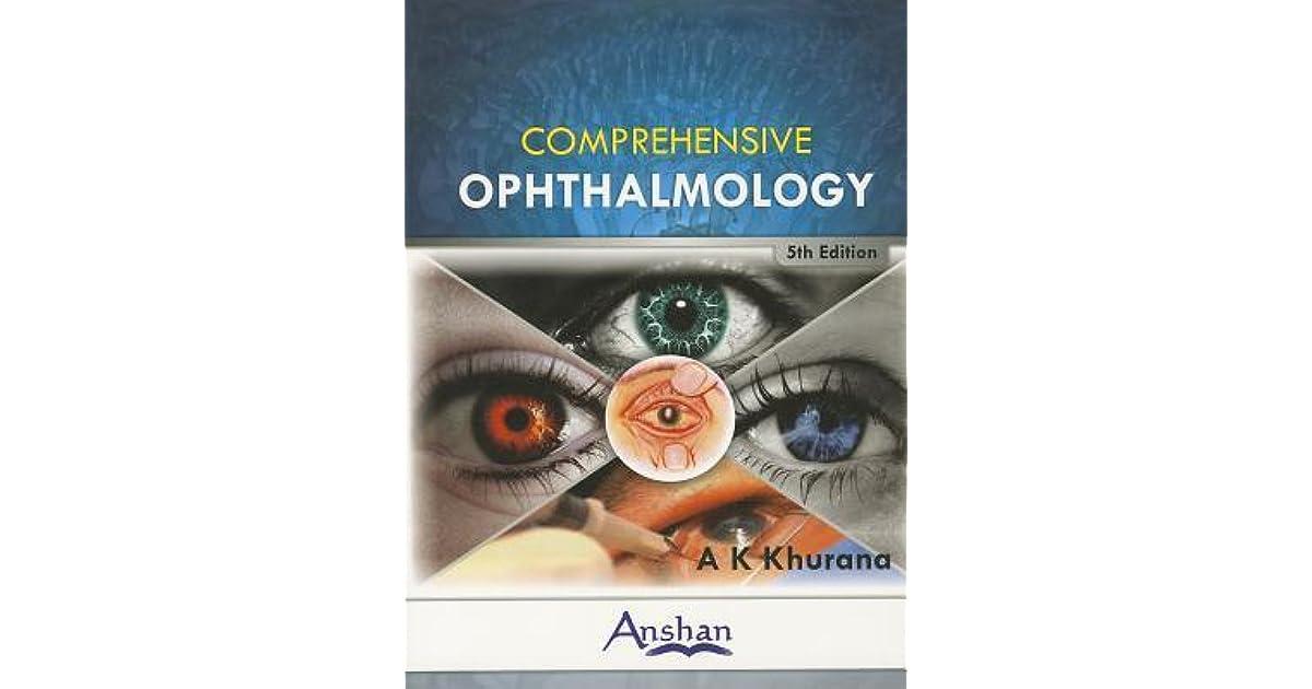 khurana ophthalmology free download