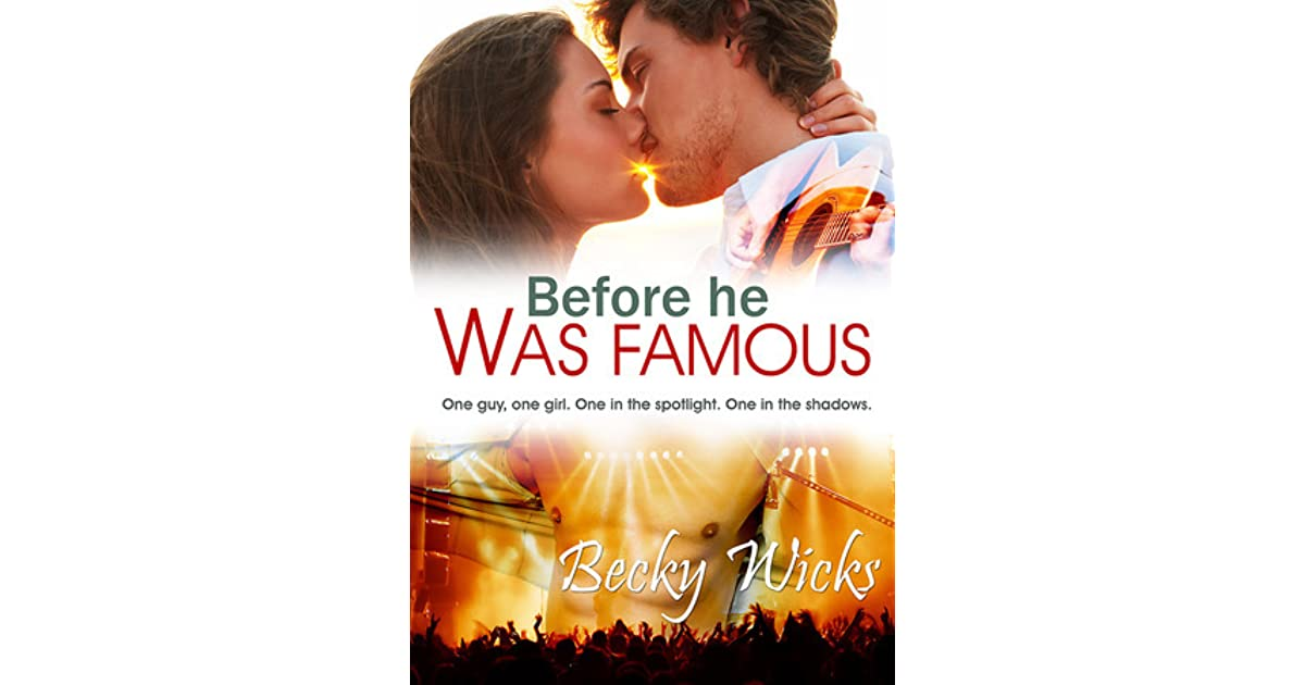 Before he was famous starstruck 1 by becky wicks fandeluxe Epub