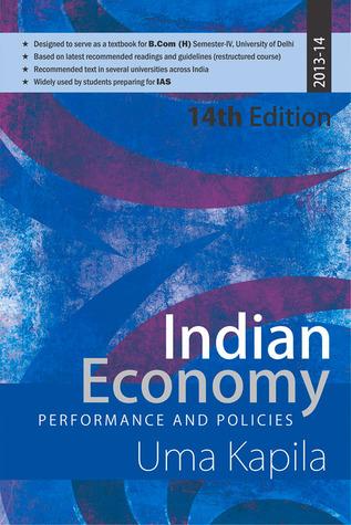 Indian Economy Performance And Policies By Uma Kapila