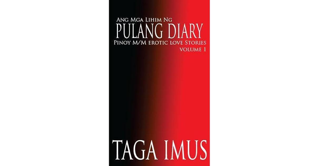 Skrivnost Red Diary Pinoy Mm Erotična ljubezenske zgodbe Z Taga Imus-1308