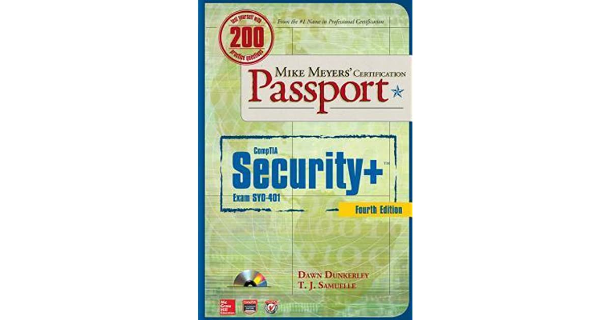 Mike Meyers Comptia Security Certification Passport