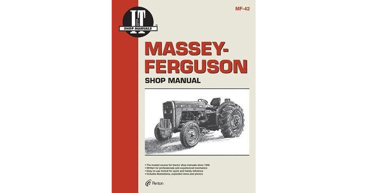 Massey Ferguson Shop Manual Models MF230 MF 235 MF240 + by Intertec ...