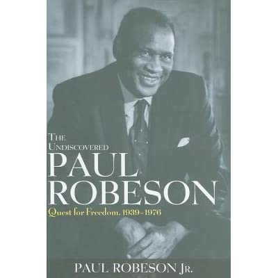 Paul robeson here i stand award