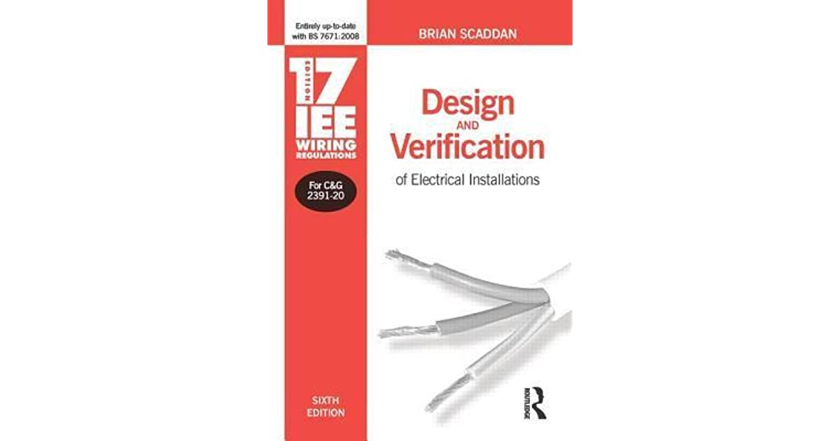 17th Edition Iee Wiring Regulations  Design And