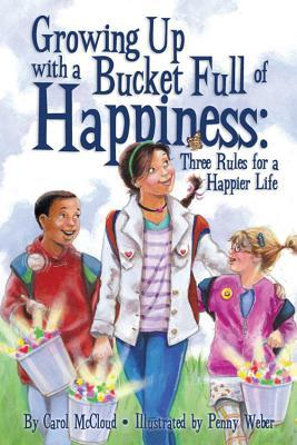 Growing Up with a Bucket Full of Happiness cover art with link to Goodreads description