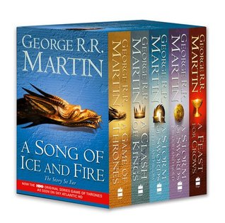 A Game of Thrones: A Song of Ice and Fire, Vol. 1-4: A Game of Thrones / A Clash of Kings / A Storm of Swords books 1-4: Steel and Snow / A Storm of Swords: Blood and Gold/ A Feast for Crows
