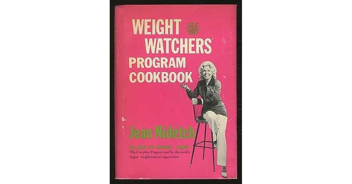 Weight Watchers Program Cookbook By Jean Nidetch