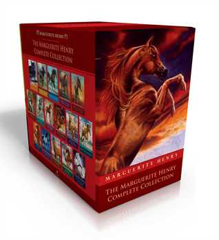 The Marguerite Henry Complete Collection: Benjamin West and His Cat Grimalkin; Black Gold; Born to Trot; Brighty; Brown Sunshine; Cinnabar; Gaudenzia; Justin Morgan; King of the Wind; Misty of Chincoteague; Misty's Twilight; Mustang; Sea Star; Stormy; ...