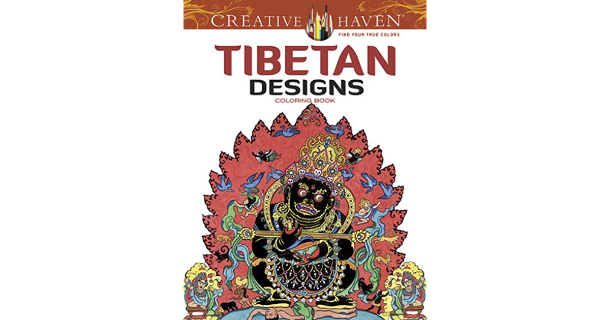 Creative Haven Tibetan Designs Coloring Book By Marty Noble