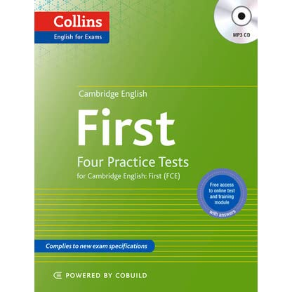Cambridge English: First: Four Practice Tests For Cambridge English