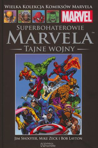 Superbohaterowie Marvela by Jim Shooter