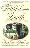 Faithful Unto Death (Chief Inspector Barnaby, #5)