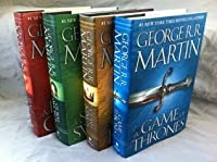 SONG OF ICE AND FIRE Set George R. R. Martin: Song of Ice and Fire series 4-Volume set (A Game of Thrones, A Clash of Kings, A Storm of Swords, A Feast for Crows)