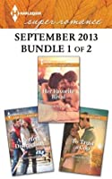 Harlequin Superromance September 2013 - Bundle 1 of 2: Her Favorite Rival\A Perfect Distraction\To Trust a Cop