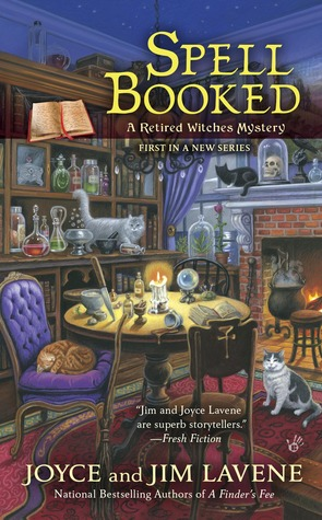 Spell Booked (Retired Witches Mystery, #1)