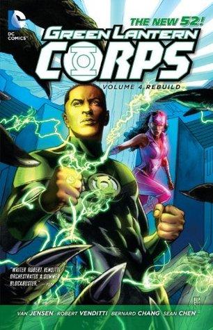 Green Lantern Corps, Volume 4: Rebuild