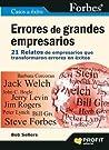 Errores de grandes empresarios Forbes: 21 relatos de empresarios que transformaron errores en éxitos