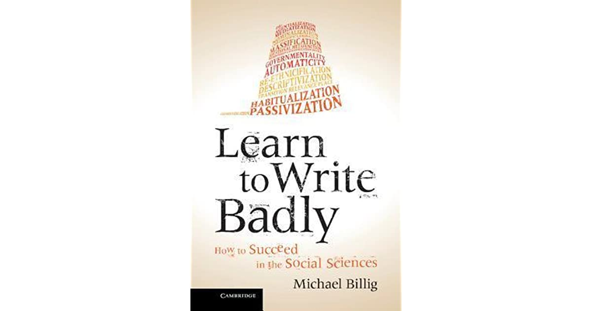 Learn badly write