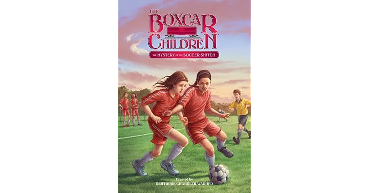 Boxcar Children Book Cover : The mystery of soccer snitch by gertrude chandler warner