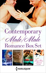 Contemporary Male/Male Romance Box Set: Icecapade / Men of Smithfield: Mark and Tony / Bending the Iron / First Time, Forever