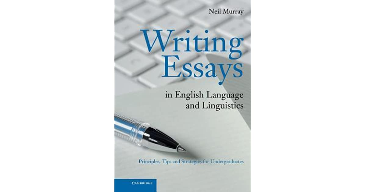 Essays On Science And Technology  Science Topics For Essays also Personal Essay Thesis Statement Examples Writing Essays In English Language And Linguistics By Neil Murray Short Essays For High School Students