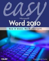 Easy Microsoft Word 2010, Portable Documents