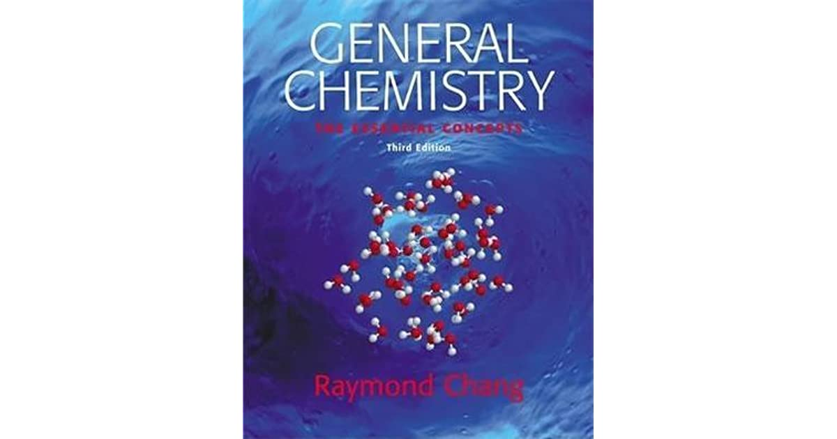 Essential chemistry by raymond chang fandeluxe Images