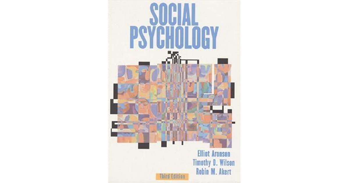Social Psychology Aronson Ebook
