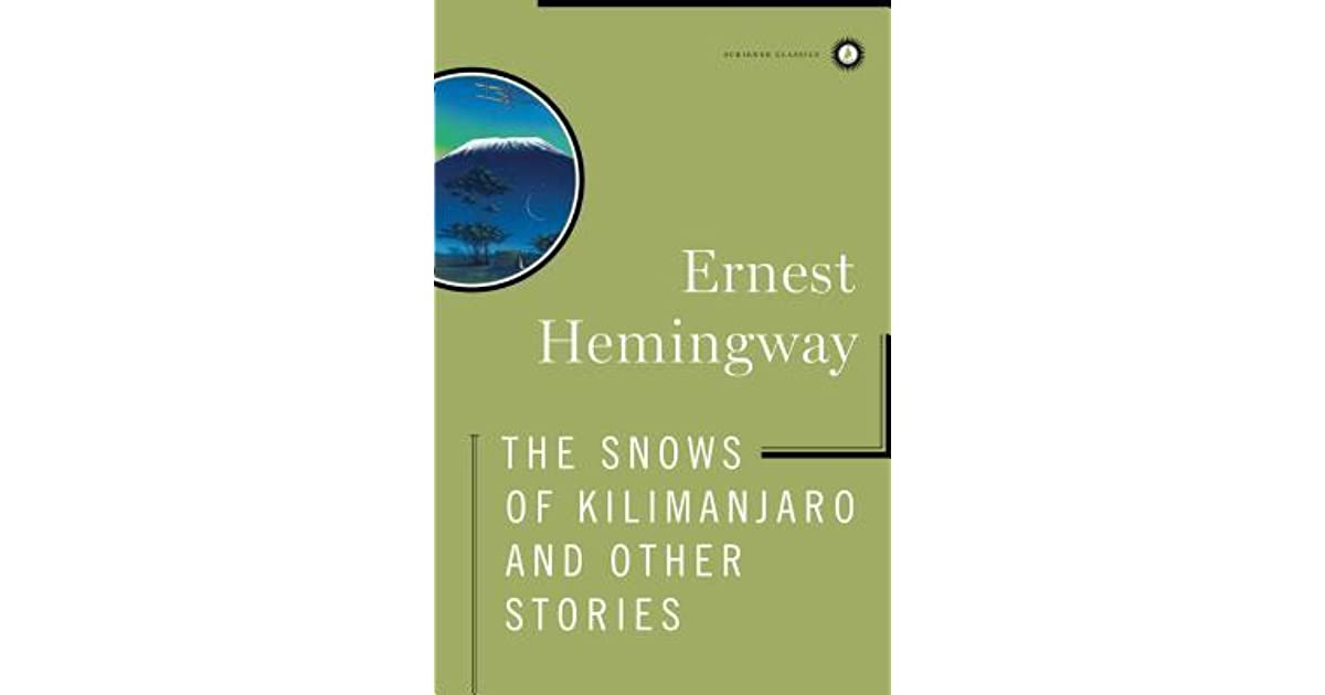 the snows of kilimanjaro sparknotes
