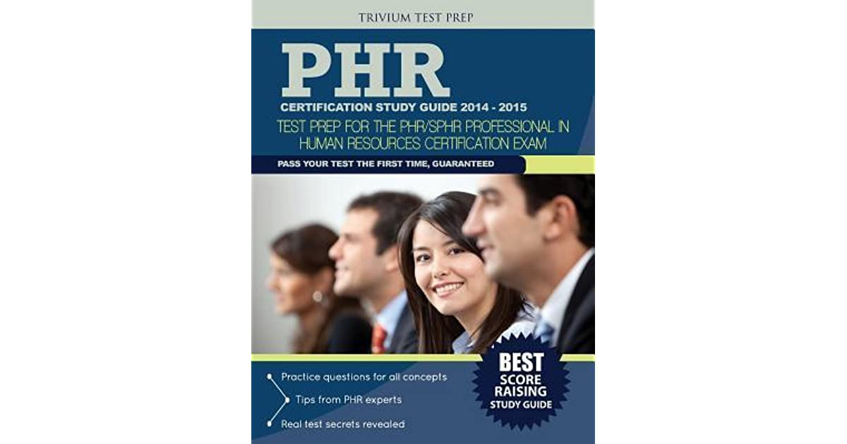 Sphr Study Guide 2015