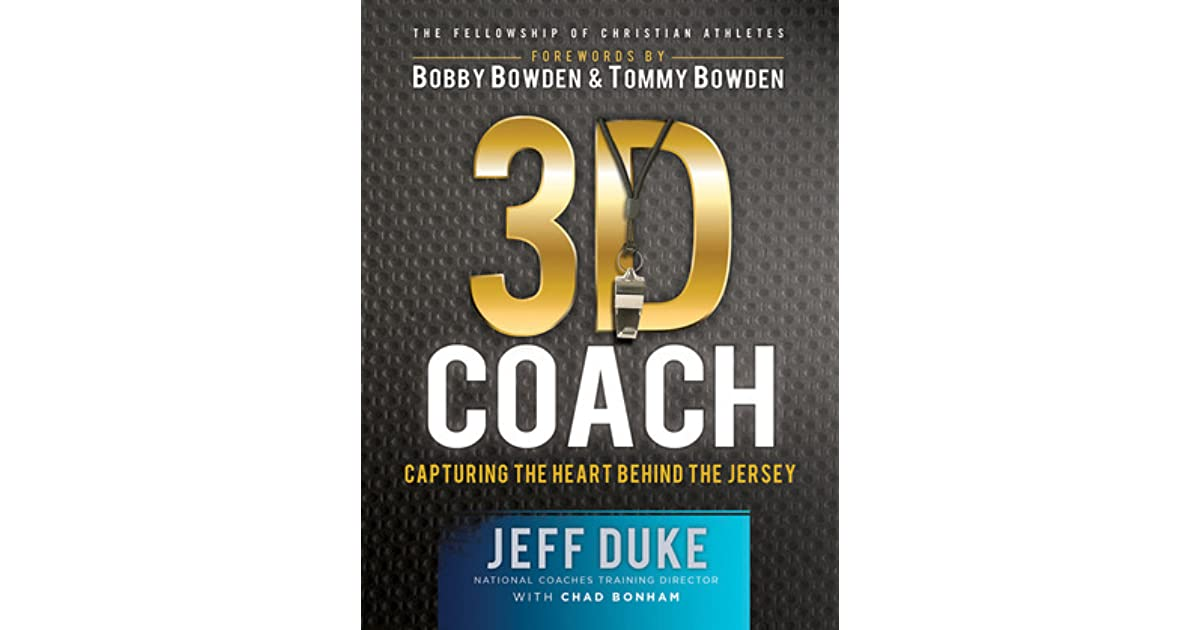 3D Coach Capturing The Heart Behind Jersey By Fellowship Of Christian Athletes
