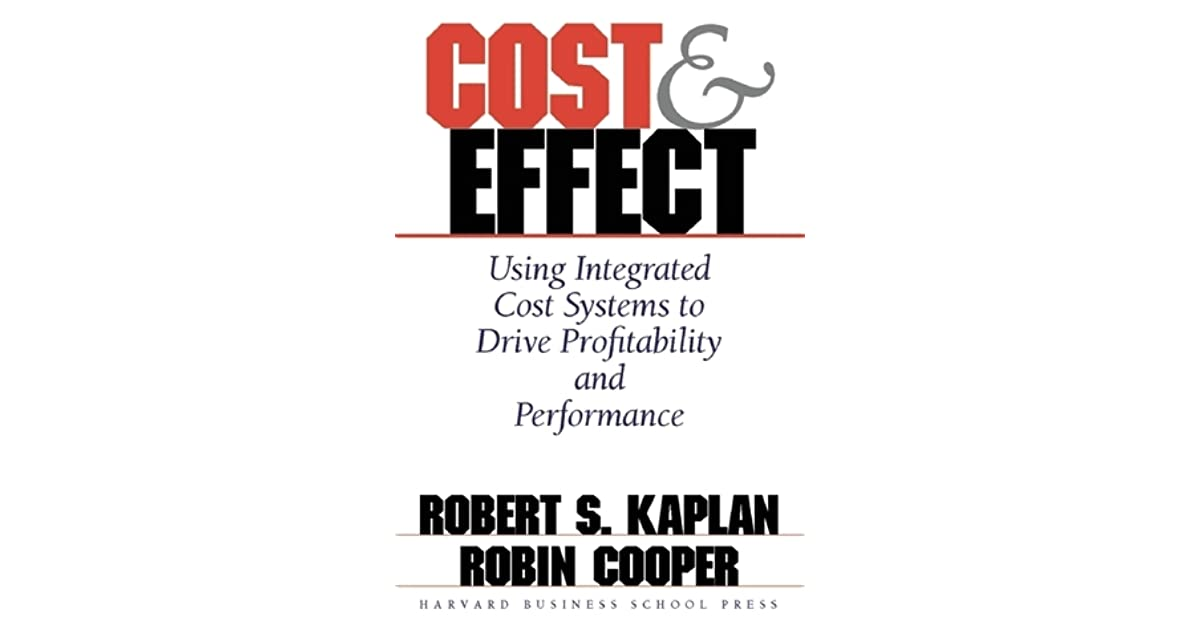 Cost effect by robert s kaplan fandeluxe Choice Image