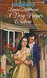 A Very Proper Widow by Laura Matthews
