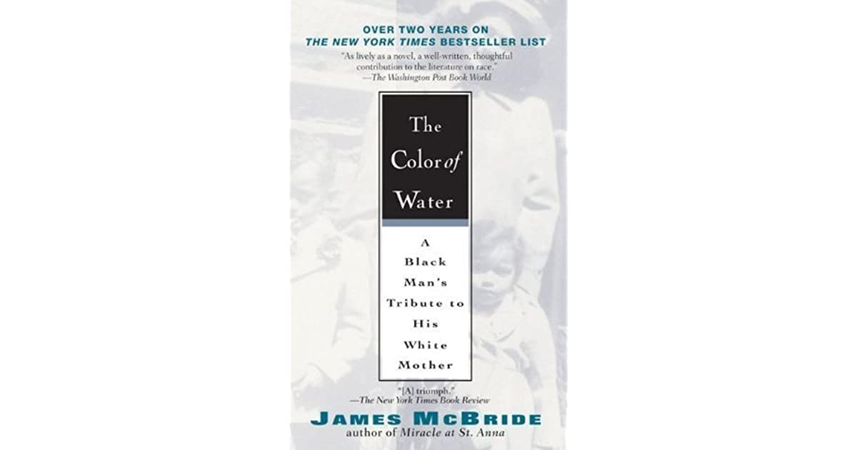 The Color Of Water Book