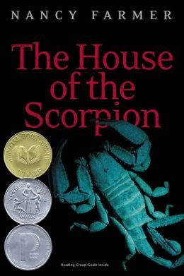 "Book cover of ""The House of the Scorpion"" by Nancy Farmer"