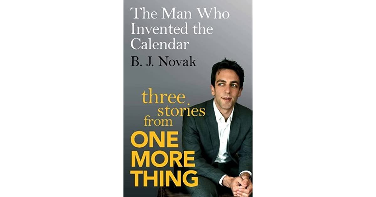 One More Thing Bj Novak Ebook