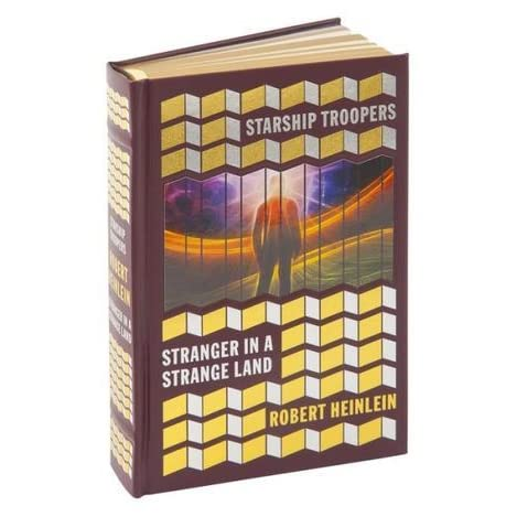 Starship Troopers And Stranger In A Strange Land By Robert A Heinlein - Heinlein us map