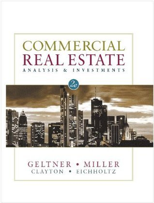 Commercial Real Estate Analysis and Investments, 2nd Edition