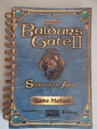 Baldurs Gate II Shadows Of Amn Game manual
