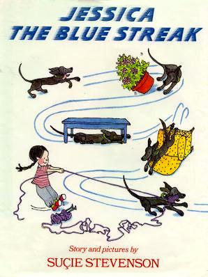 Jessica the Blue Streak: Story and Pictures Suçie Stevenson