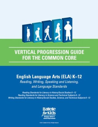 Vertical Progression Guide for the Common Core, English Language Arts K-12: a Teacher Planning Tool That Helps You Align Your Students' Success with Their Progression From Kindergarten to College and Career Readiness