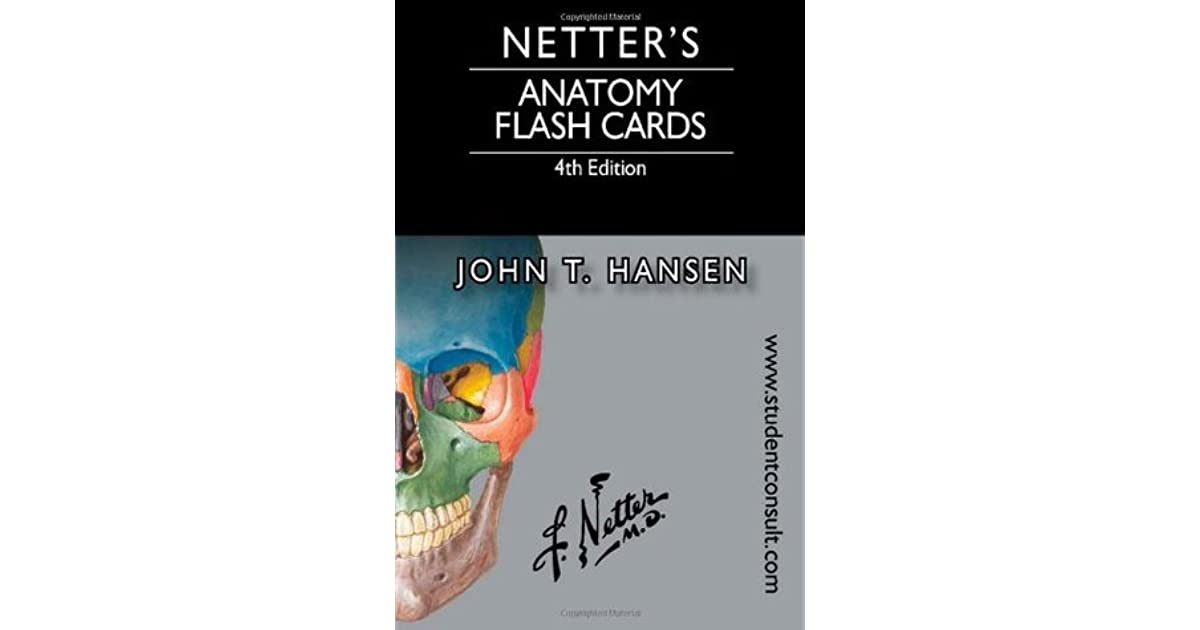 Netter\'s Anatomy Flash Cards: With Online Student Consult Access by ...