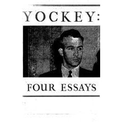 francis parker yockey essays Black metal cult records proudly presents: francis parker yockey-the selected essays (book) contents include: the proclamation of london, the world in flames, twentieth century metaphysics, america's two political factions, the destiny of america, the prague treason trial, the tragedy of youth, and two short notes.