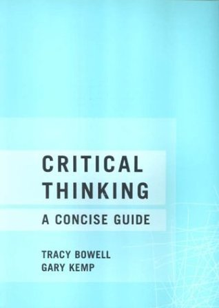 critical thinking a concise