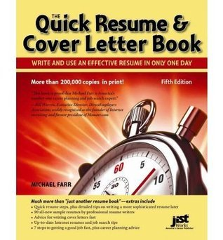 Quick-Resume-Cover-Letter-Book-Write-and-Use-an-Effective-Resume-in-Just-One-Day