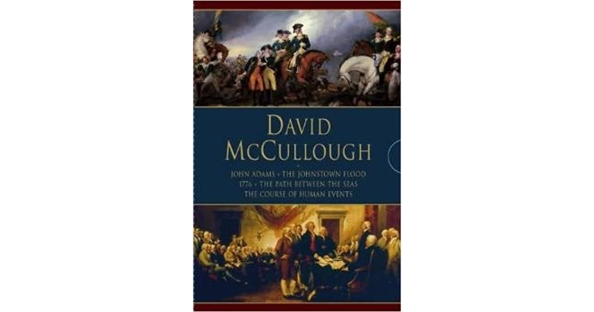 ìjohnstown floodî by david mccullough essay Graced by david mccullough's remarkable gift for writing richly textured, sympathetic social history, the johnstown flood is an absorbing, classic portrait of life in nineteenth-century america, of overweening confidence, of energy, and of tragedy.
