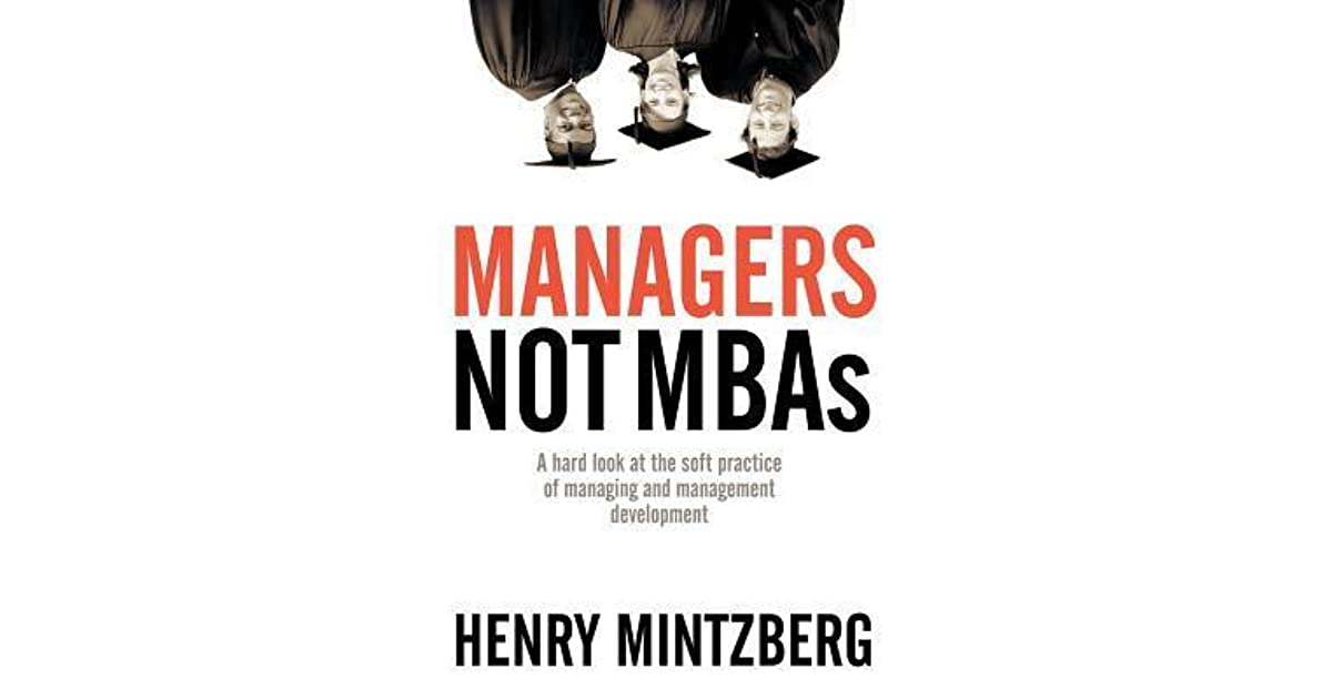 Managers Not Mbas Ebook